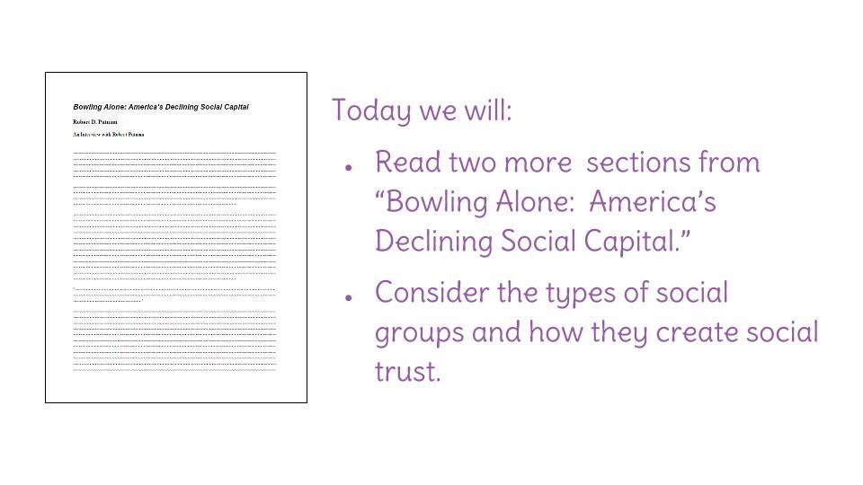 Essay Violence Download Essay For Macbeth also Cultural Analysis Essay Lesson  Bowling Alone Americas Declining Social Social Capital  Sample Debate Essay