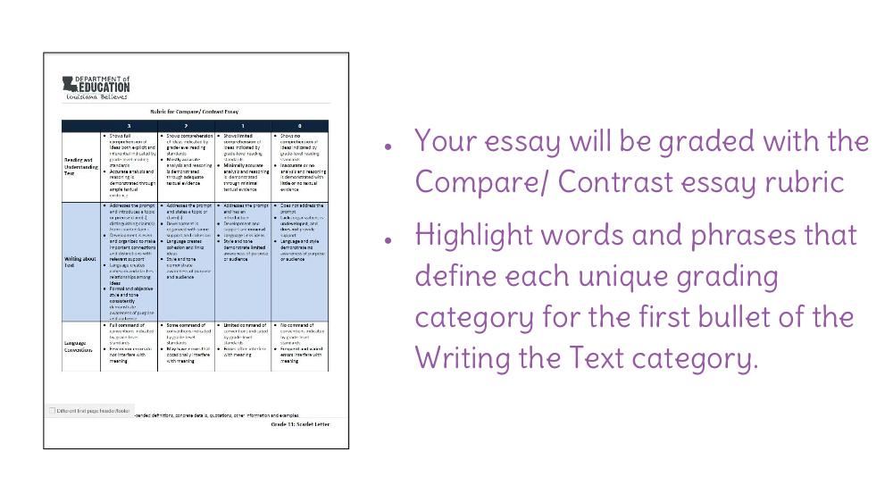 write a comparison essay introduction Introduction paragraph: compare/contrast essay  comparison-contrast essay: write an a+ comparison or contrast paper - duration:  writing an introduction to compare & contrast essay.