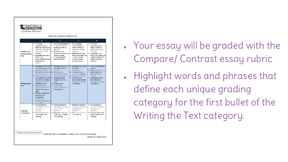 lesson preparing to write a compare and contrast essay view resource copy resource id