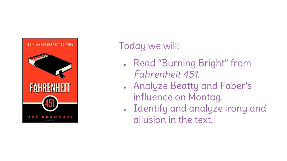 themes of fahrenheit 451 and examples