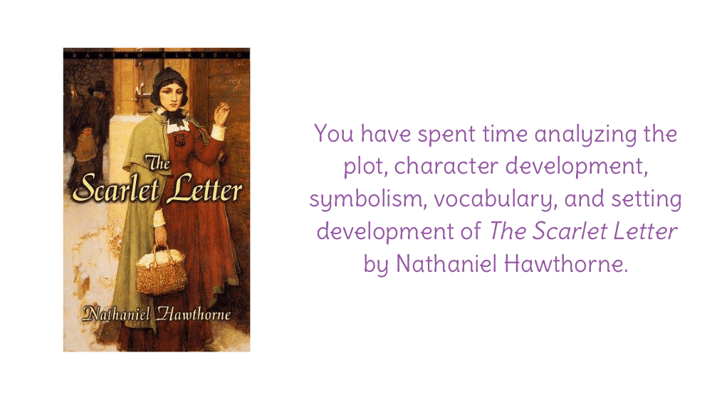 the symbolic events in the scarlet letter by nathaniel hawthorne