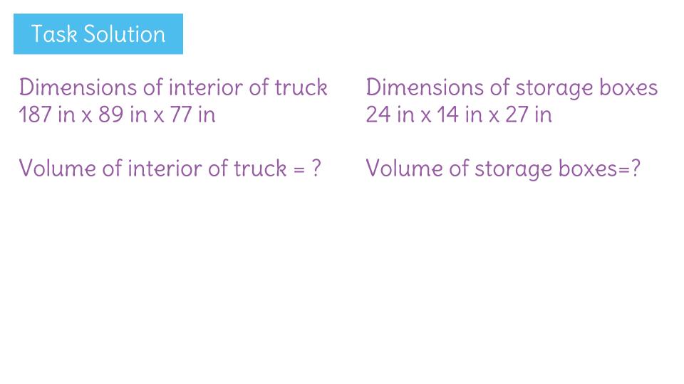 Solve Real World Problems Involving The Volume Of Rectangular Prisms
