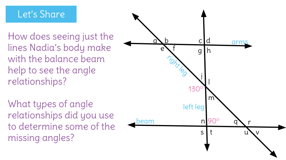 Identify angle relationships of parallel lines cut by multiple – Angle Relationships Parallel Lines Worksheet
