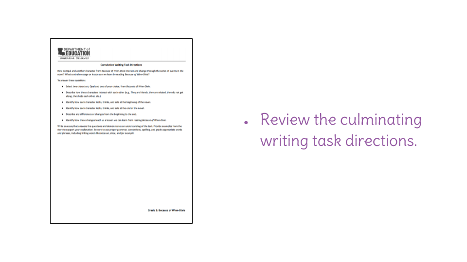 Lesson  Editing And Publishing Expository Essays  Learnzillion Download