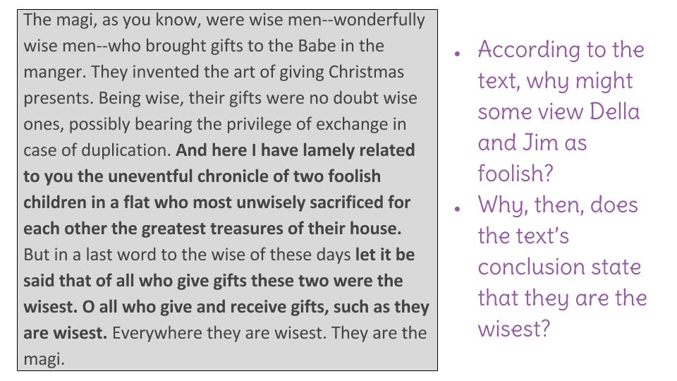 Lesson  Determine A Theme Of The Gift Of The Magi Identify A  Lesson  Determine A Theme Of The Gift Of The Magi Identify A Shared  Theme Across Three Fiction Texts  Learnzillion