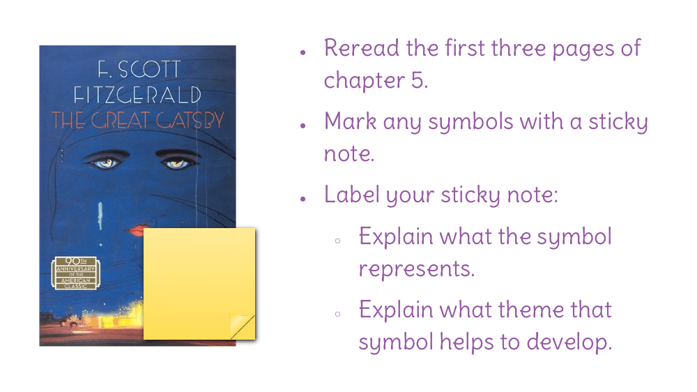 yellow symbolism in the great gatsby