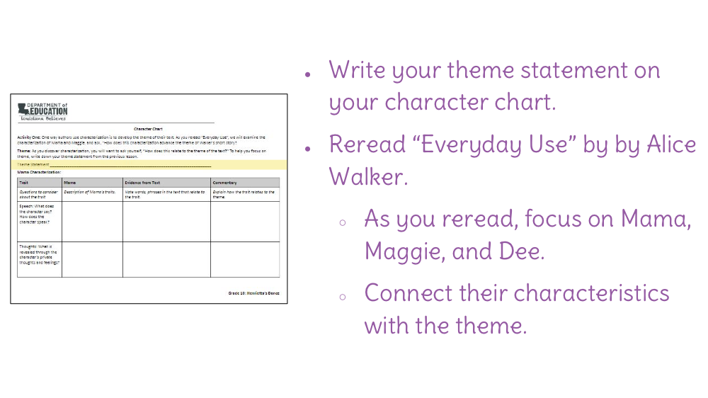 essay about maggie from everyday use Free essay: in the story everyday use alice walker illustrates dee could careless that mama and maggie use most of the items on everyday use alice walker essay.