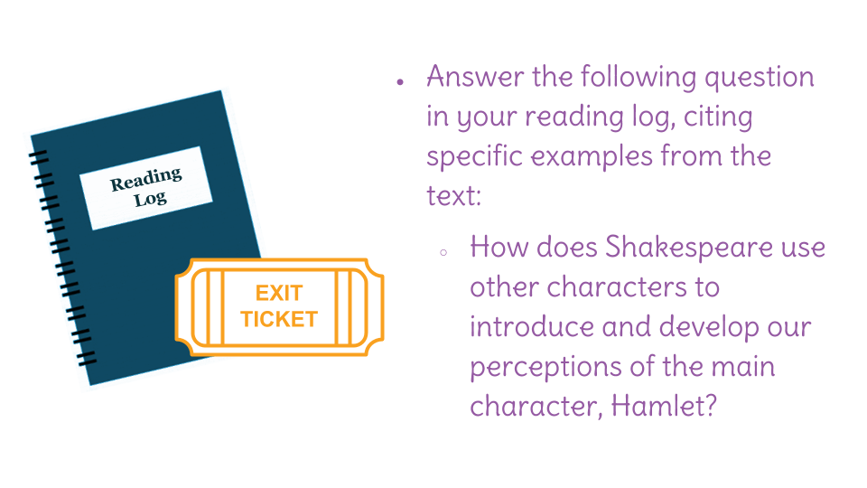 Lesson 3: Analyze the impact of Shakespeare's choices in
