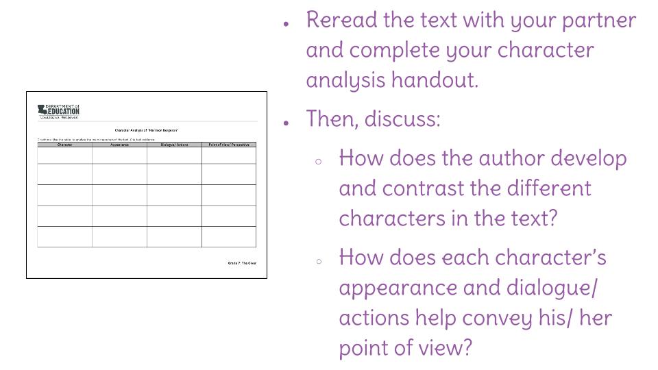 harrison bergeron text analysis