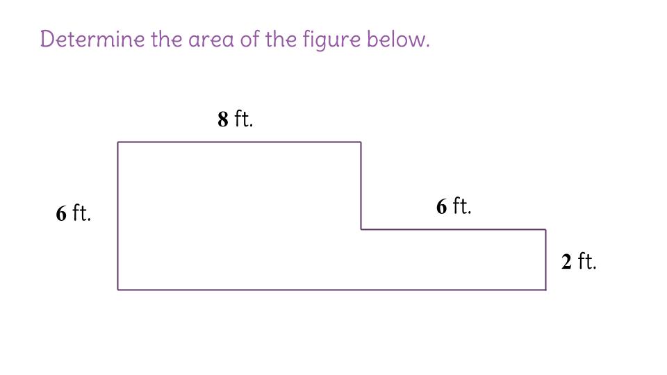 14 Finding the area of an irregular figure FP – Area of Irregular Polygons Worksheet