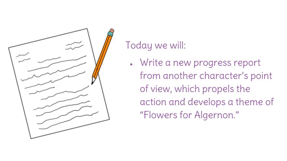 progress report writing