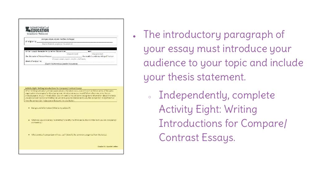 essays to copy