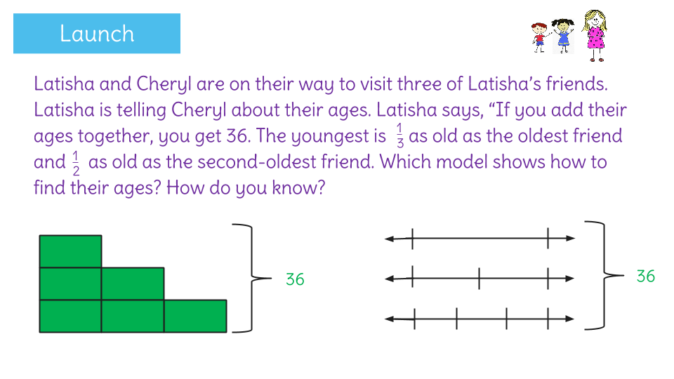 how to solve problems with fractions