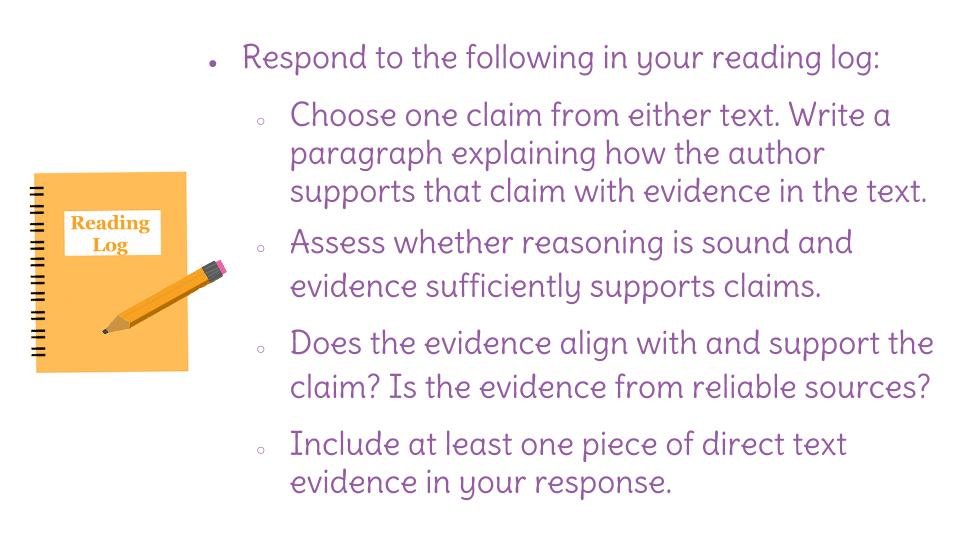 how do i locate evidence to support a claim