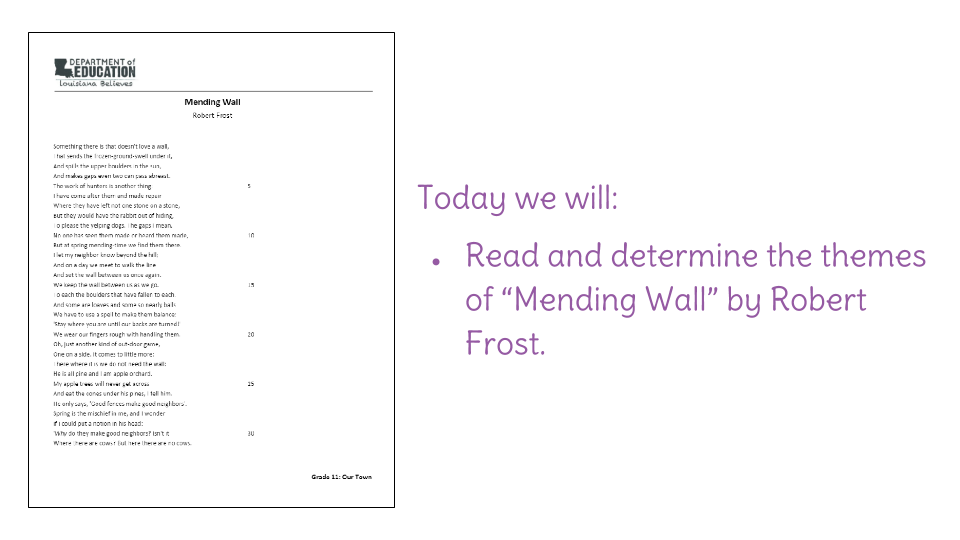theme of mending wall robert frost
