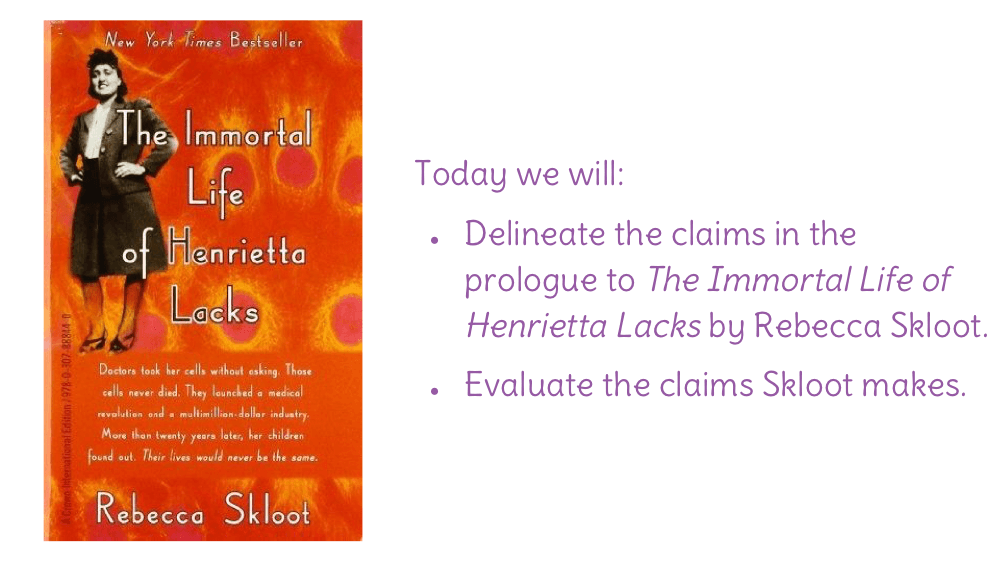 critical analysis of the immortal life of The immortal life of henrietta lacks by rebecca skloot is a non-fiction book published in new york by crown publishers on feb, 2, 2010 the immortal life of henrietta lacks is skloot's journey to uncover the story of henrietta lacks.