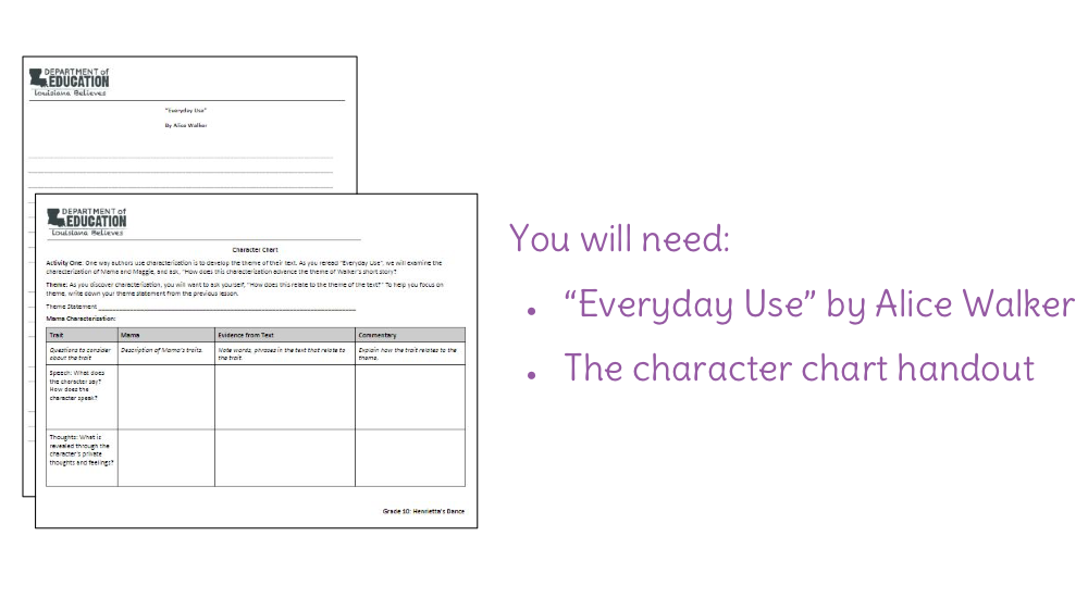 everyday use character analysis