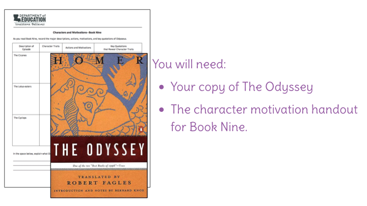 book nine of the odyssey