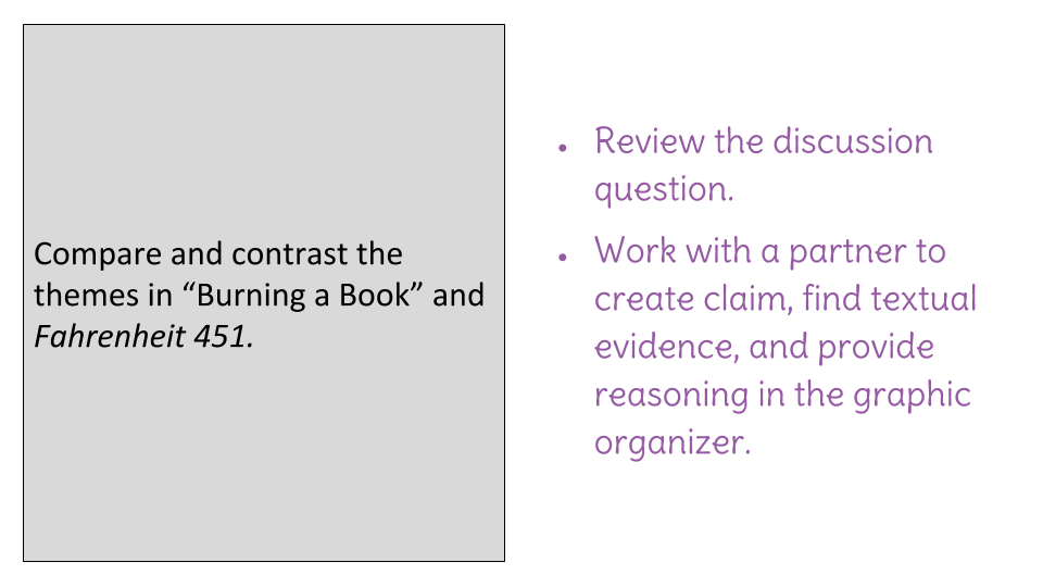 Lesson 16 Evaluating Claims Evidence And Reasoning In A