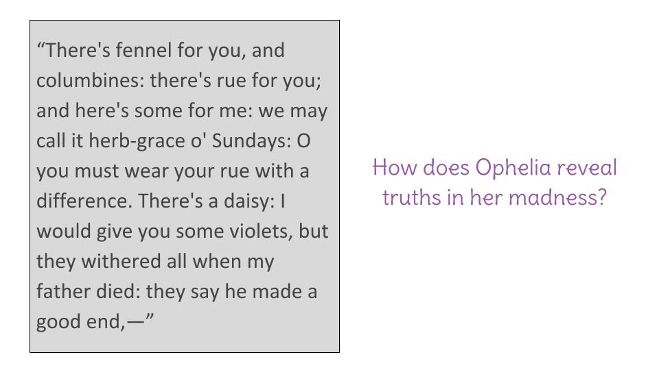 ophelia character analysis