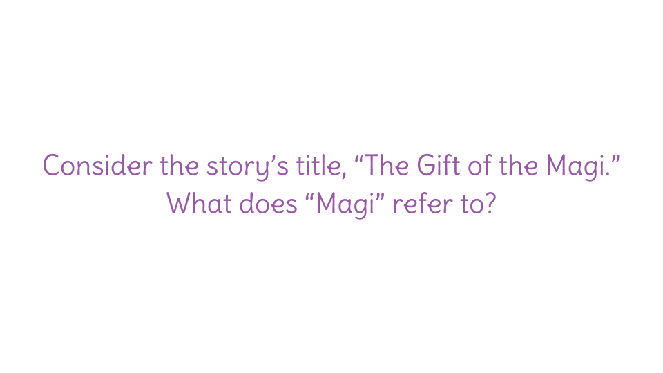 Lesson  Determine A Theme Of The Gift Of The Magi Identify A  Download