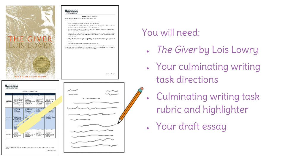 lesson culminating writing task revising your essay  view resource copy resource id