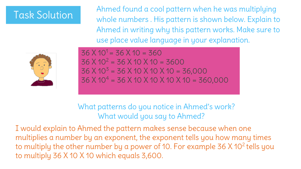 Represent Powers Of 10 With Whole Number Exponents By Examining