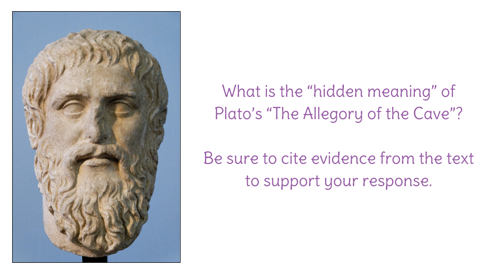 the fear of change in platos the allegory of the cave Exploring change in the allegory of the cave  like plato's allegory, both illustrates humanity's inherent fear of change and continues to mirror the current.
