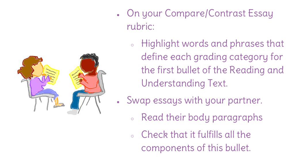 what is compare and contrast essay