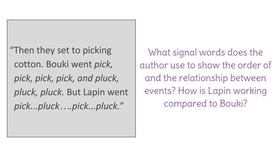 what are signal words