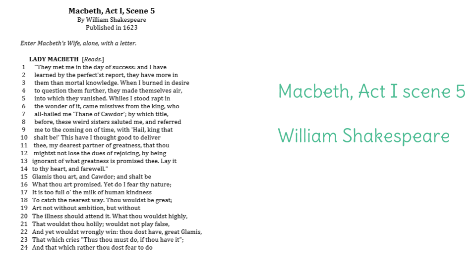 macbeth essay question Studying for macbeth we have tons of study questions for you here, all completely free.