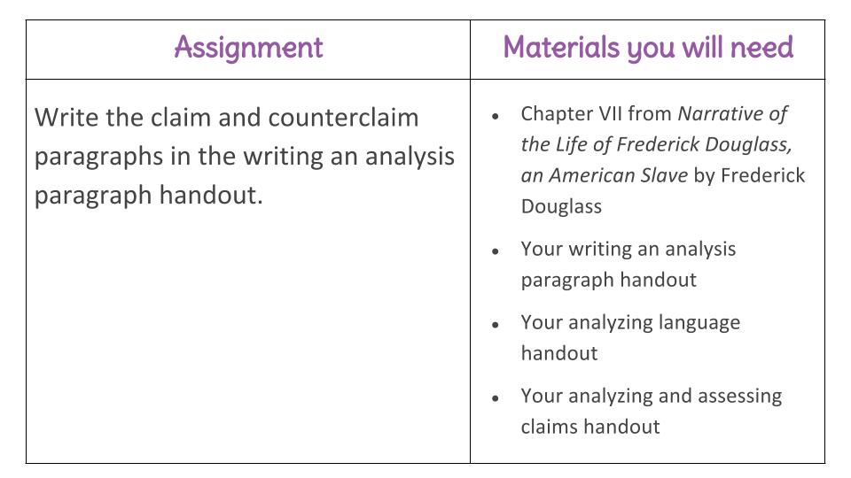 writing a rebuttal paragraph