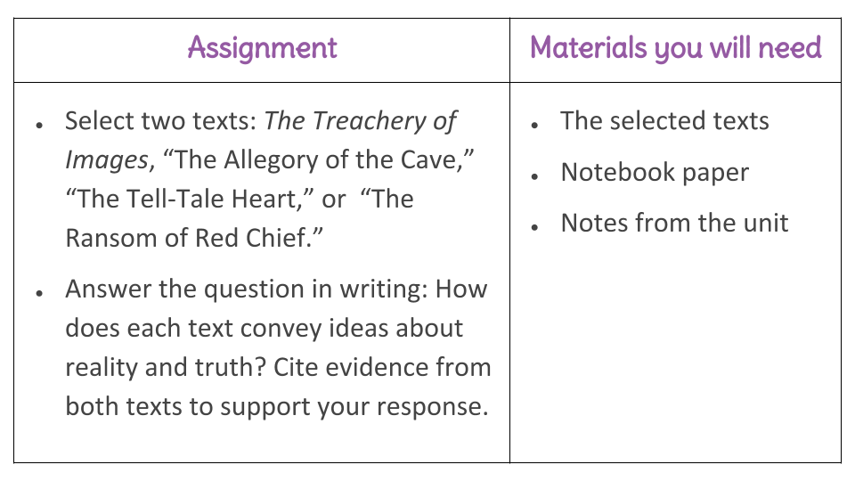 Lesson 28 Compare Text Structures Learnzillion