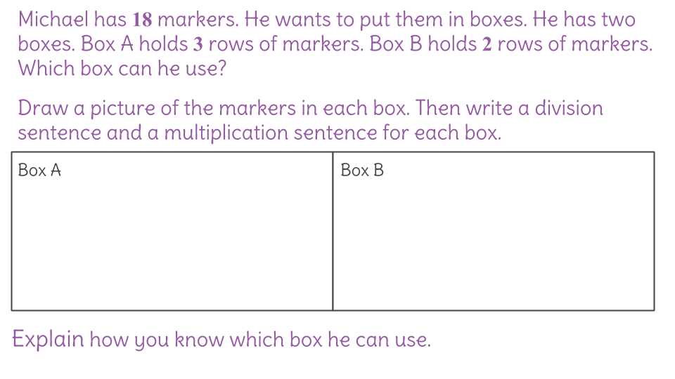 7. Use multiplication and division to solve word problems ...