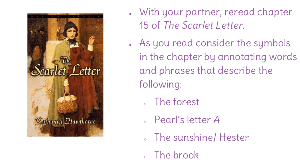 the effectiveness of symbolism in the scarlet letter What are some of the most important symbols found in the scarlet letter in the scarlet letter what is the symbolism behind the scarlet letter.