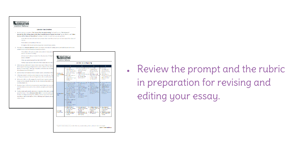 lesson revising and editing the research essay learnzillion view resource copy resource id